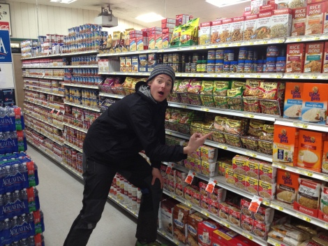 IGA has the best selection of Ramen